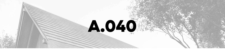 architecture 040 M